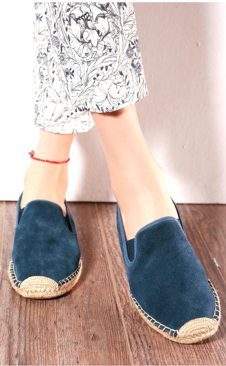 快乐玛丽鞋 潮时尚纯色低帮帆布鞋反绒皮麻底