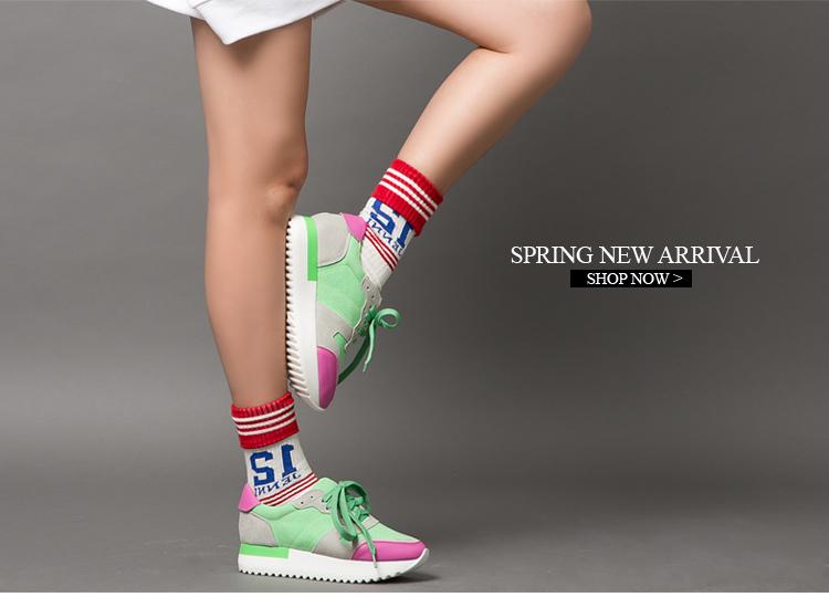 运动女鞋w01606 绿色 37
