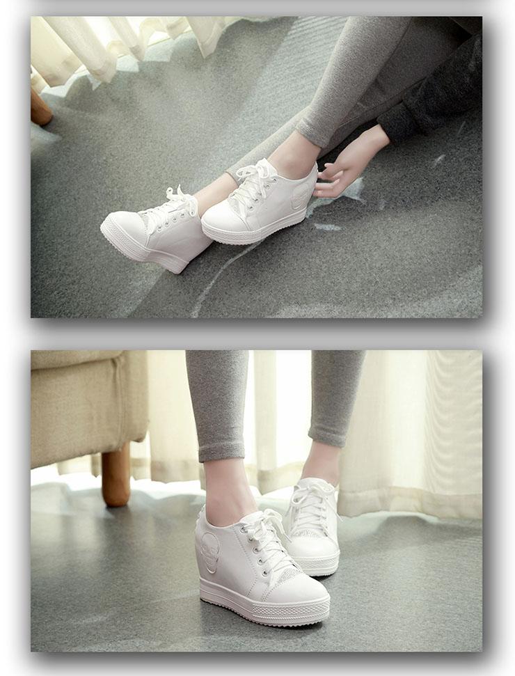 少女猫2014新款内增高女鞋