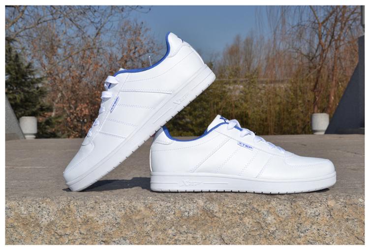 板鞋正品2014新款春季黑白色男士式休闲鞋