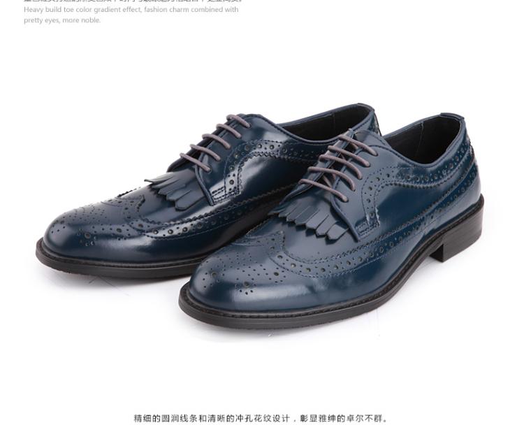 【热卖年货】沙驰 英伦男式商务正装皮鞋