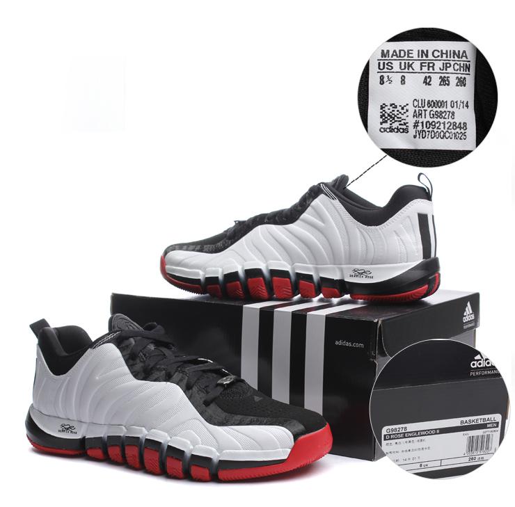 热adidas阿迪达斯2014新款男鞋篮球场上罗斯篮球鞋鞋