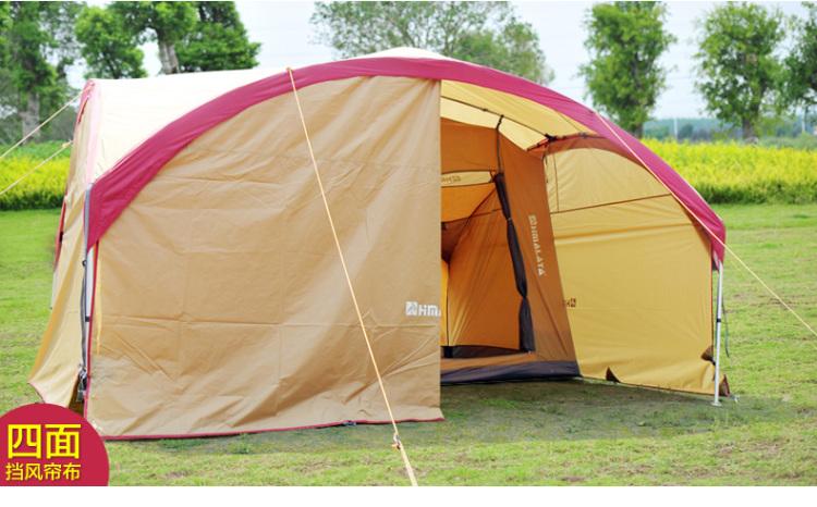 拉雅 户外天幕帐篷 超大遮阳篷防紫外线广告凉