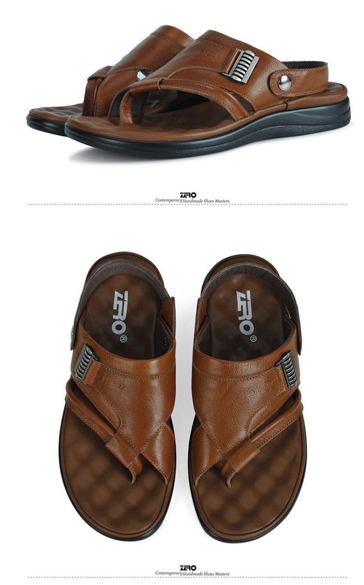 新品男士凉皮鞋