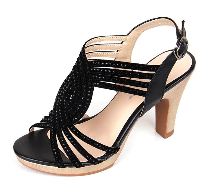 凉鞋/凉拖红蜻蜓 诺曼底牛皮女凉鞋