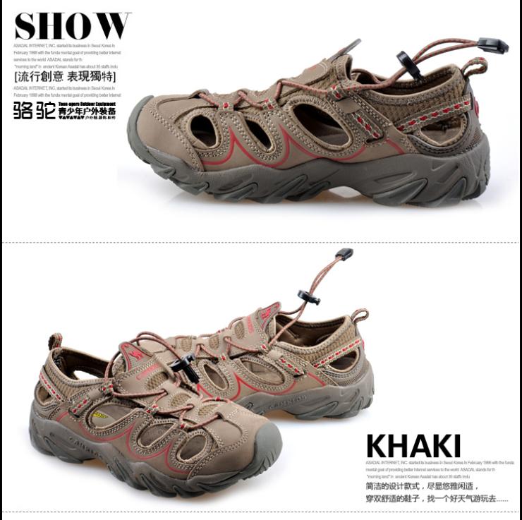 骆驼 凉鞋 沙滩鞋