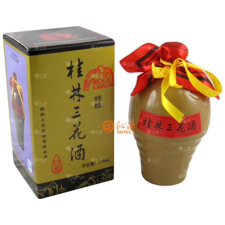 55度 500ml美陶瓶特酿桂林三花酒