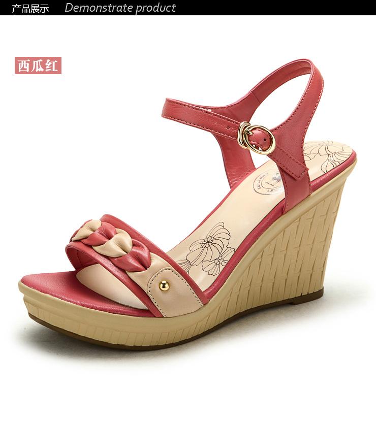 camel/骆驼 2012夏日女鞋