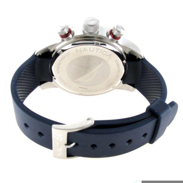Nautica 双眼双表带时尚套装男表 A20506G