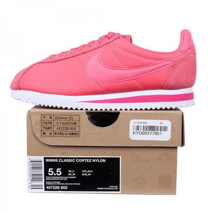 nike粉红球鞋