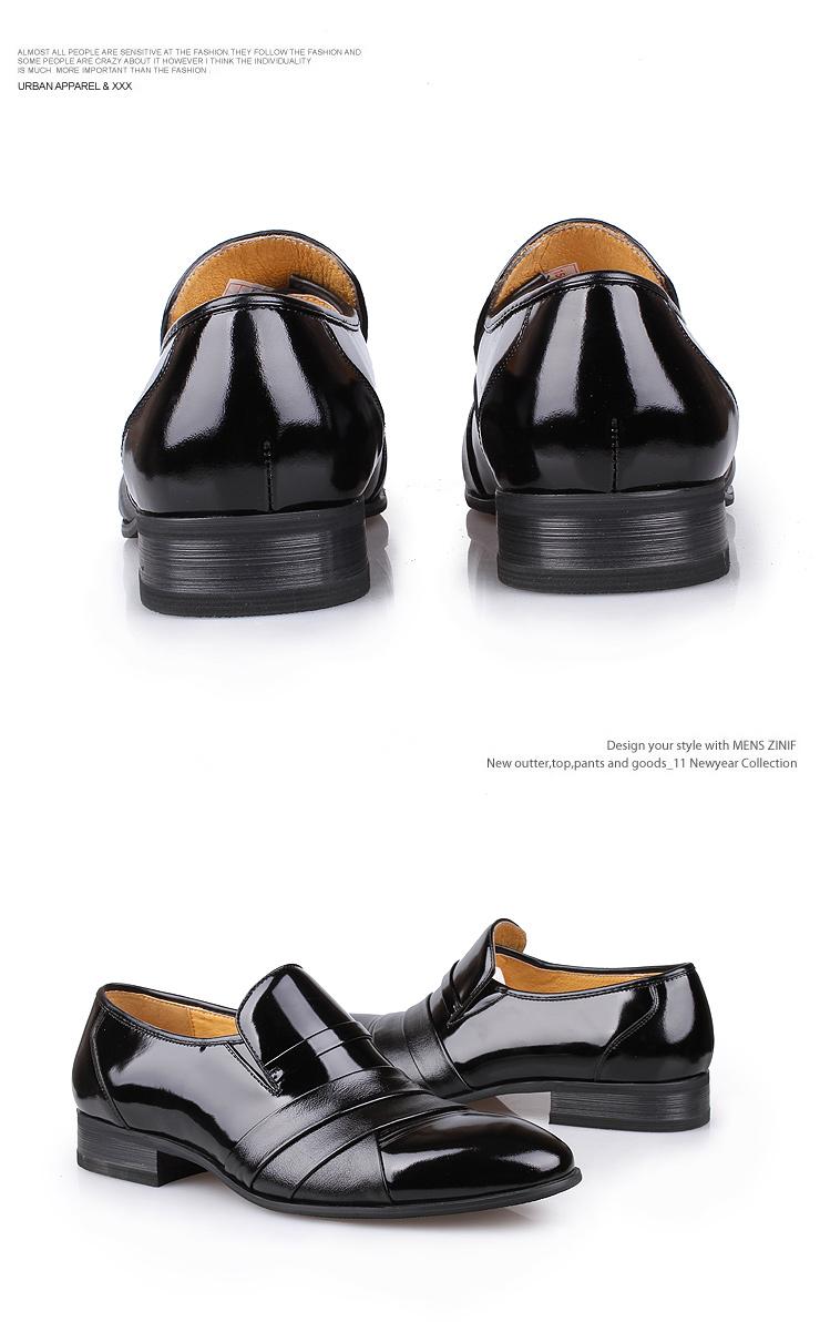 皮高正装皮鞋13303