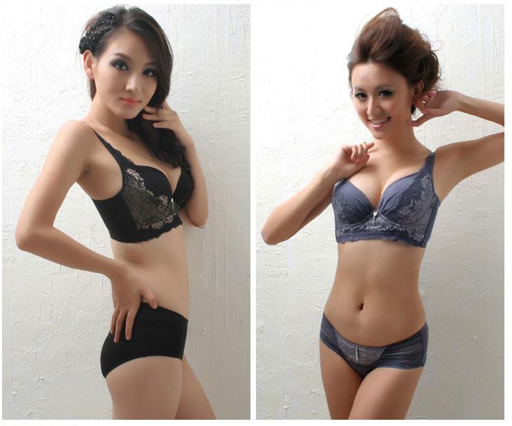 魔体美身段 文胸套装内衣女性可爱少女内衣系