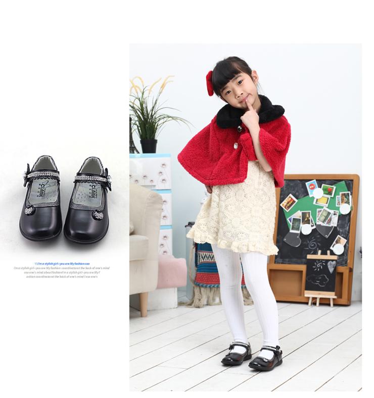 森纳尔 女童皮鞋