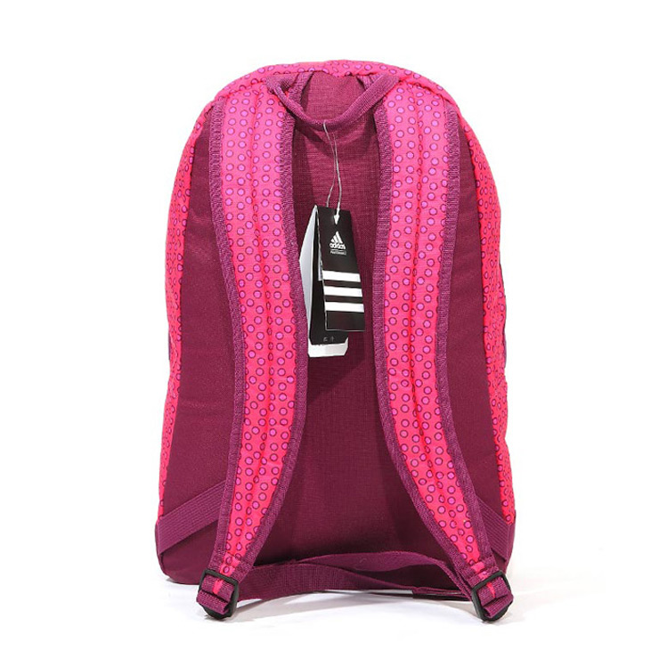 adidas粉红书包