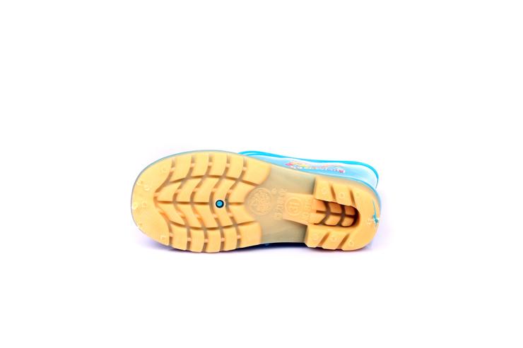 上海回力warrior2012时尚休闲高帮套脚女款雨鞋h815a