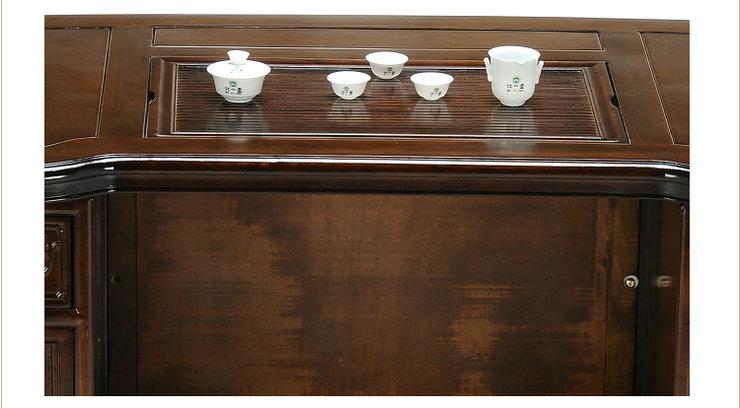 具根雕黑胡桃木茶桌茶几茶台byh 065 茶几 含100木架费价格 报价 京