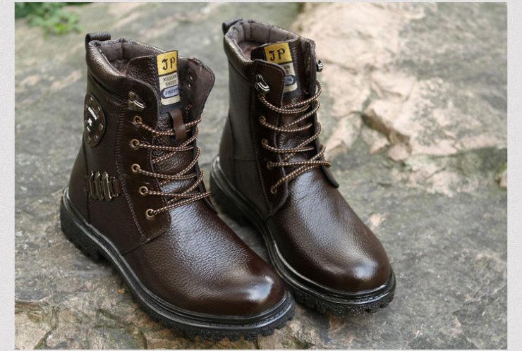 猫派男鞋 2012新款复古马丁靴
