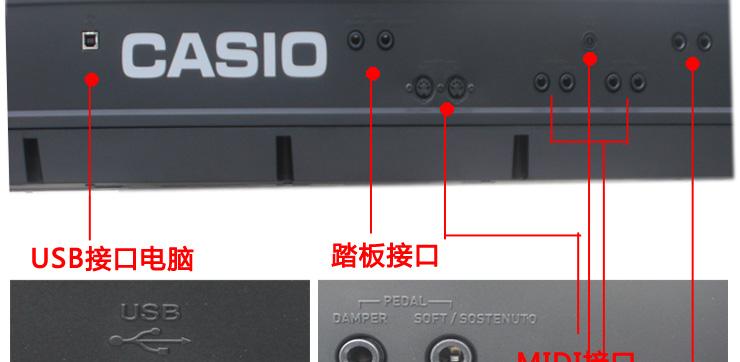 卡西欧 PX358 接口