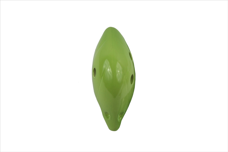 正品打折太乐陶笛 6孔中音f调陶笛 纯釉色 千年风雅陶笛专用 桔色专卖 高清图片