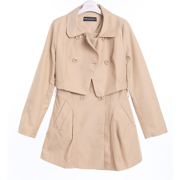 阿莱贝琳品牌女装风衣_多琳纳 风衣