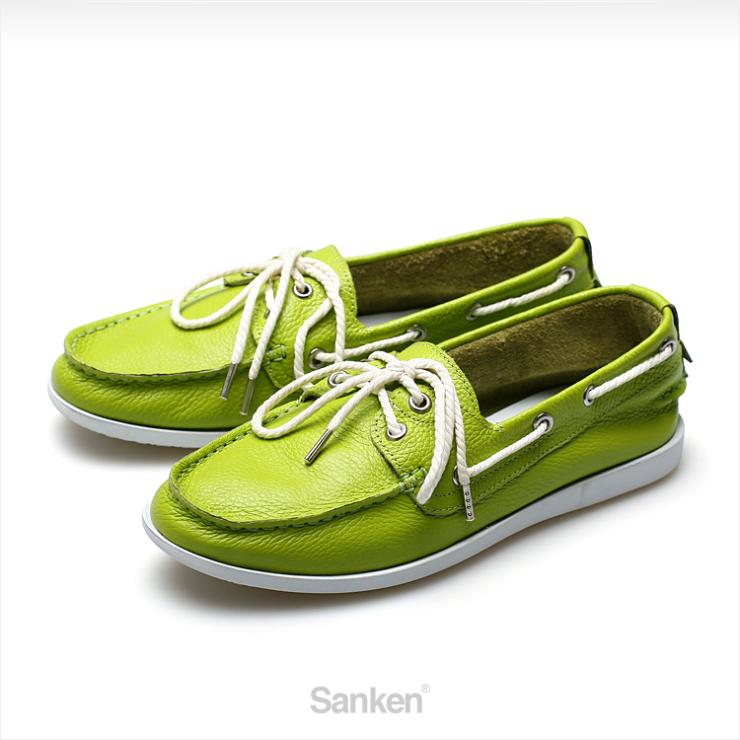 绿色休闲皮鞋搭配