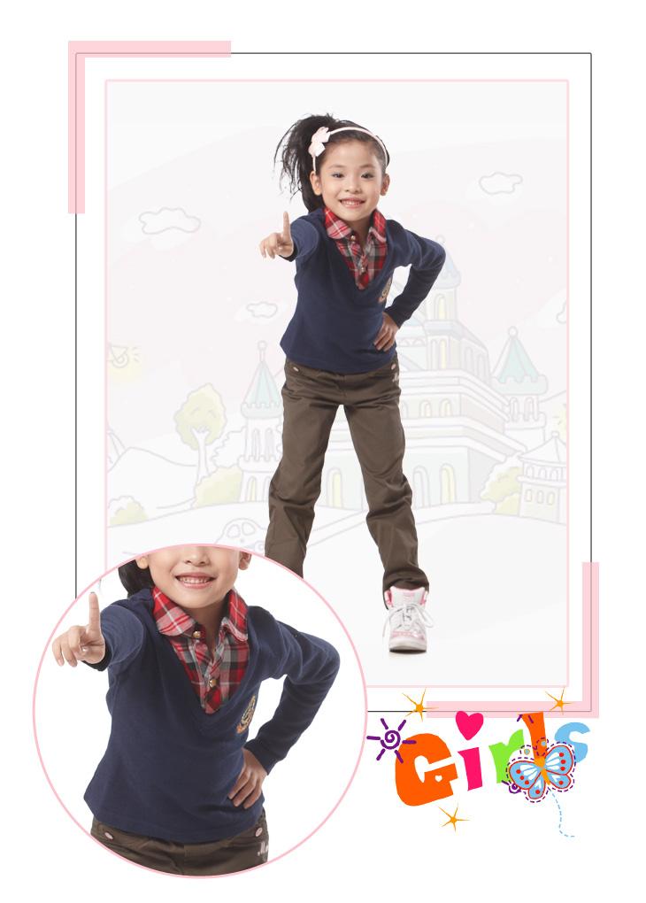 韩版童装 秋装新款