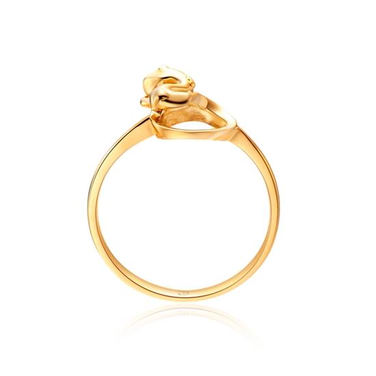 周大福 18K金戒指 E109654 价格\/图片,最新款