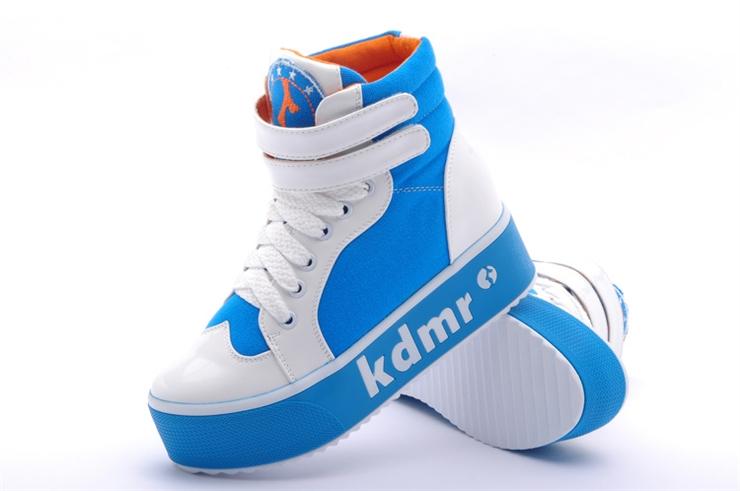 马丁靴高帮鞋