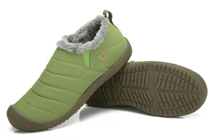 骆驼(camel)户外鞋 情侣款休闲棉鞋