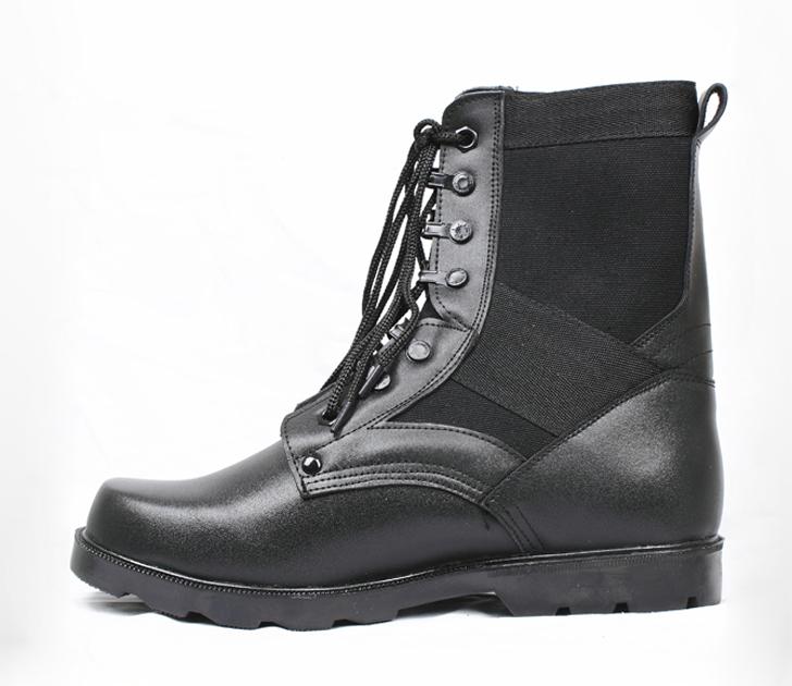 高帮保安皮鞋
