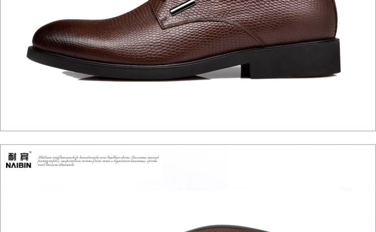 男士皮鞋休闲鞋男鞋子商务正装皮鞋男正品真皮圆头