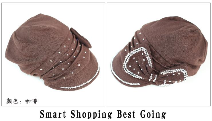 旺角16号针织毛线时装帽SZM 12 903 黑色产品描述信息