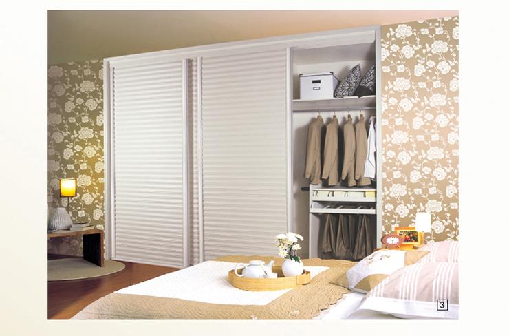 索菲亚c5框杏啡摩卡腰线冲浪百叶衣柜 可定制家具 柜门 平-百叶衣柜