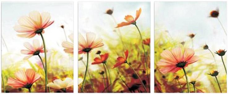 悠趣 数字油画 40cm*50cm*3 三联画 浪漫幸福