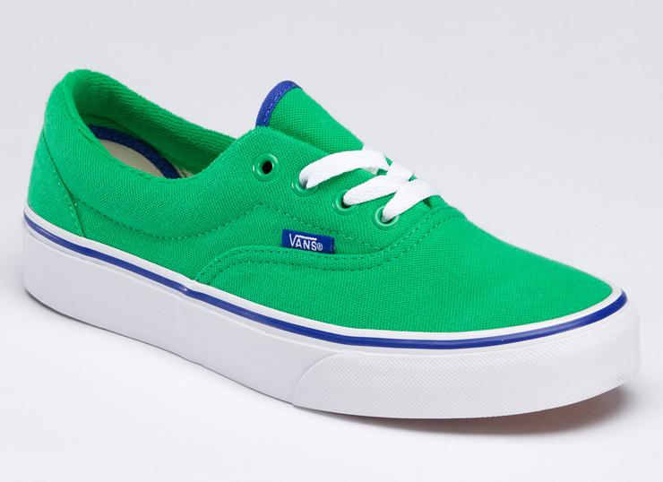 vans绿色鞋子