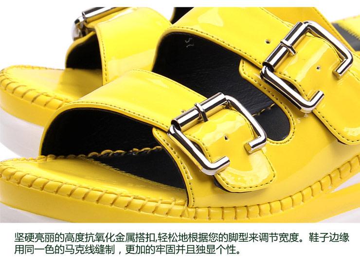 2012夏季新款凉拖女厚底松糕凉鞋时尚女鞋