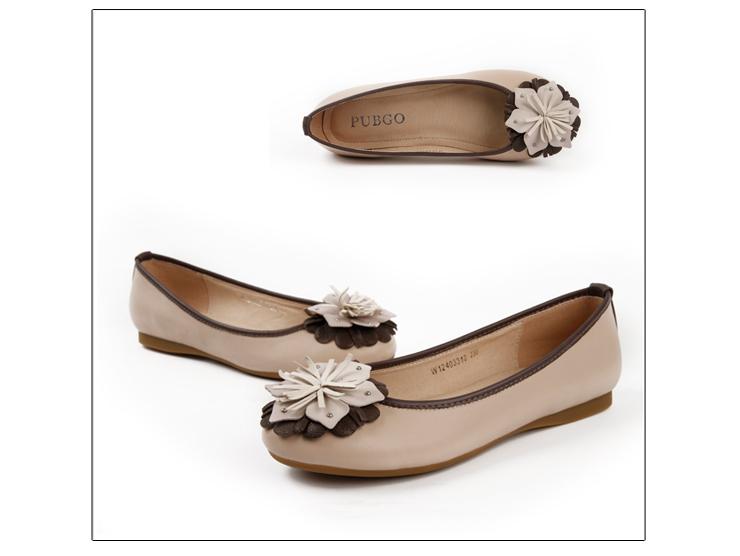 新款平底舒适女单鞋