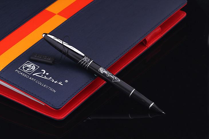 毕加索 606财务笔 钢笔 3色可选 纯黑