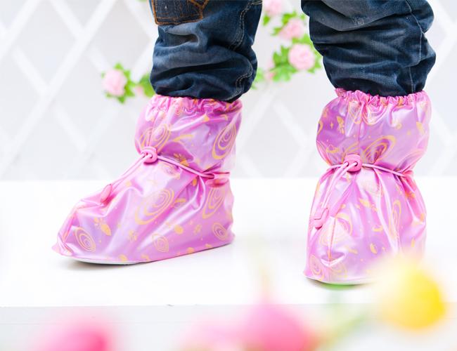 儿童长筒型防雨鞋套