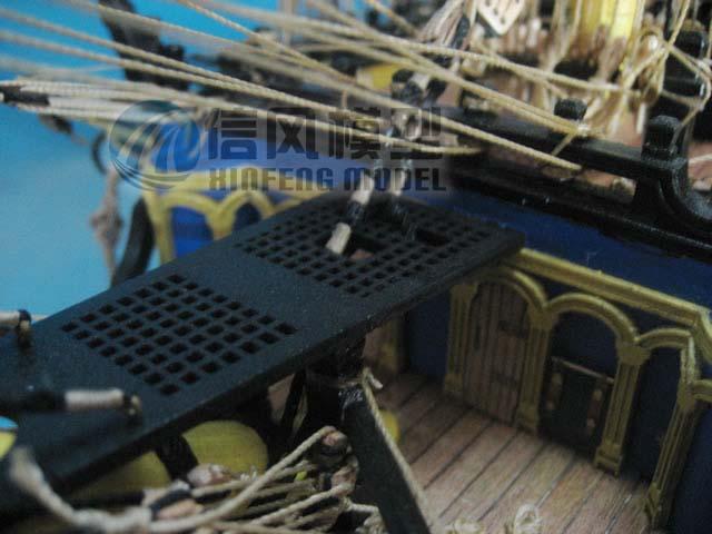 XinFeng模型光缆拼装套材HMS.VICTORY胜直图纸信风埋图片