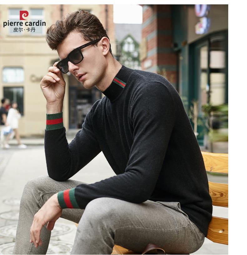 Áo len lông cừu nam Pierre Cardin 1002017 175L65 70KG WA095 - ảnh 16