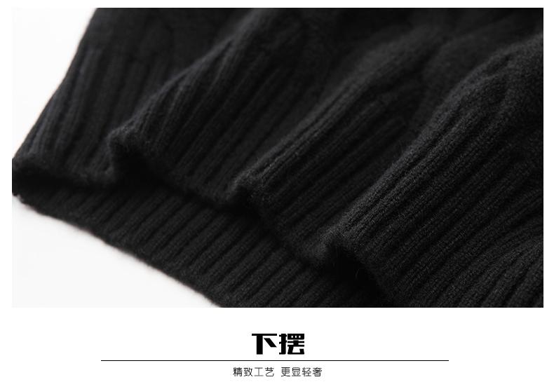 Áo len lông cừu nam Pierre Cardin 2017 180XL70 80KG WA78210 - ảnh 23