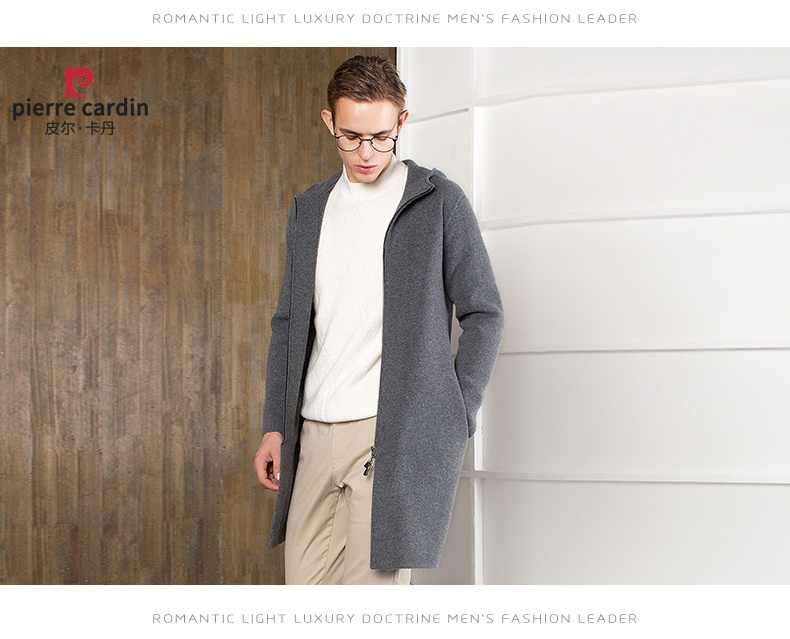 Áo len lông cừu nam Pierre Cardin 2017 180XL70 80KG WA78211 - ảnh 12