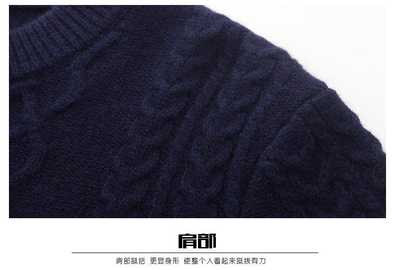 Áo len lông cừu nam Pierre Cardin 2017 180XL70 80KG WA86038 - ảnh 17