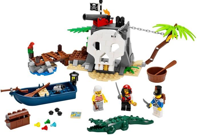 乐高lego娃娃系列早教拼插玩具图形5-14岁2015new海盗的积木中班计算士兵堡垒图片