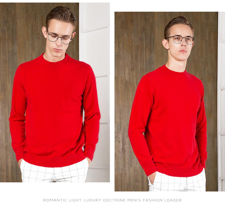 Áo len lông cừu nam Pierre Cardin 2017 180XL70 80KG YR006 - ảnh 31