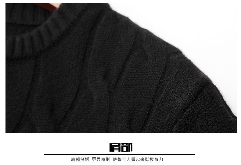 Áo len lông cừu nam Pierre Cardin 2017 180XL70 80KG WA78210 - ảnh 21