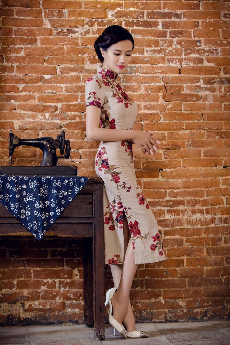 旗袍丽人  年轻貌美(1) - 花雕美图苑 - 花雕美图苑