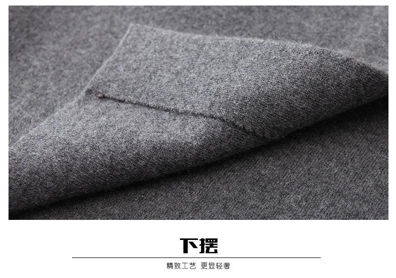 Áo len lông cừu nam Pierre Cardin 2017 180XL70 80KG WA78211 - ảnh 23