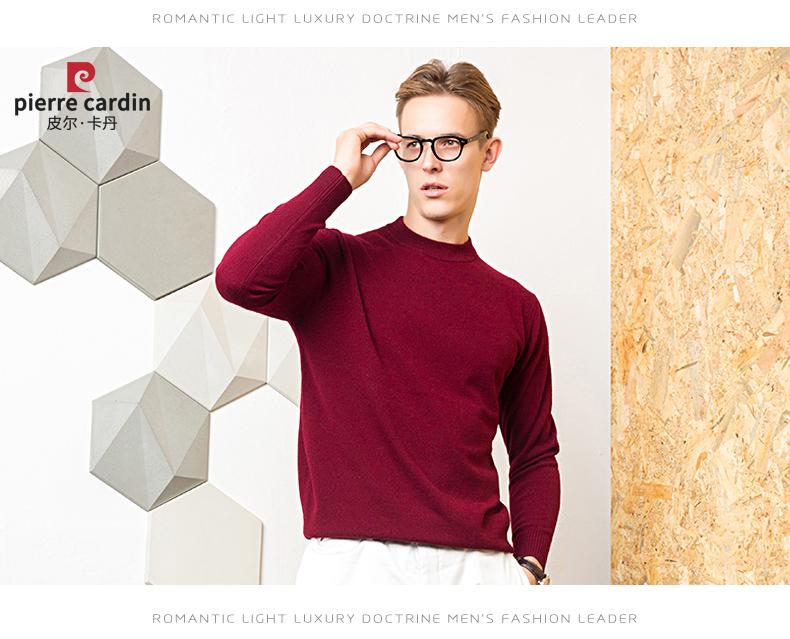 Áo len lông cừu nam Pierre Cardin 2017 180XL70 80KG YR006 - ảnh 21
